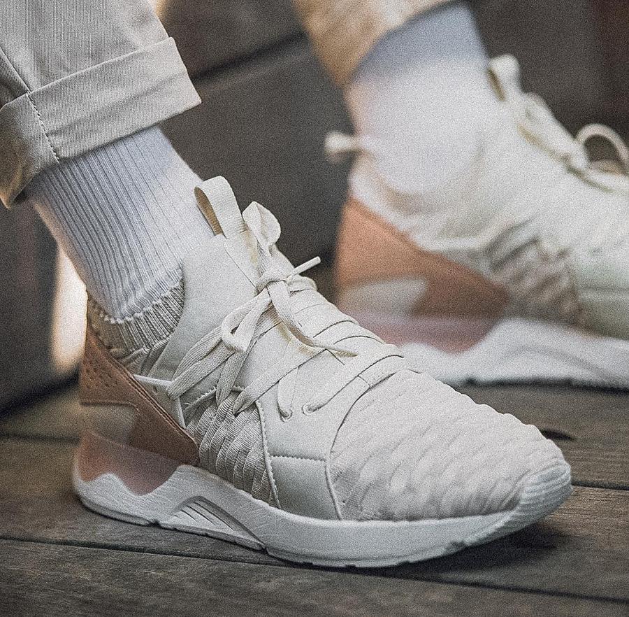 Femme Chaussures Asics Gel Lyte V Baskets rétro white