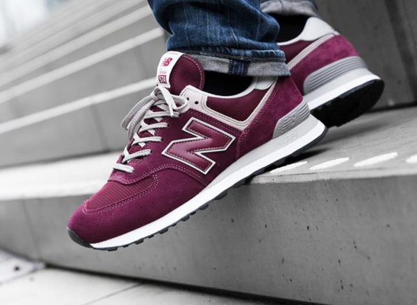 New Balance ML 574 EGB 'Burgundy'