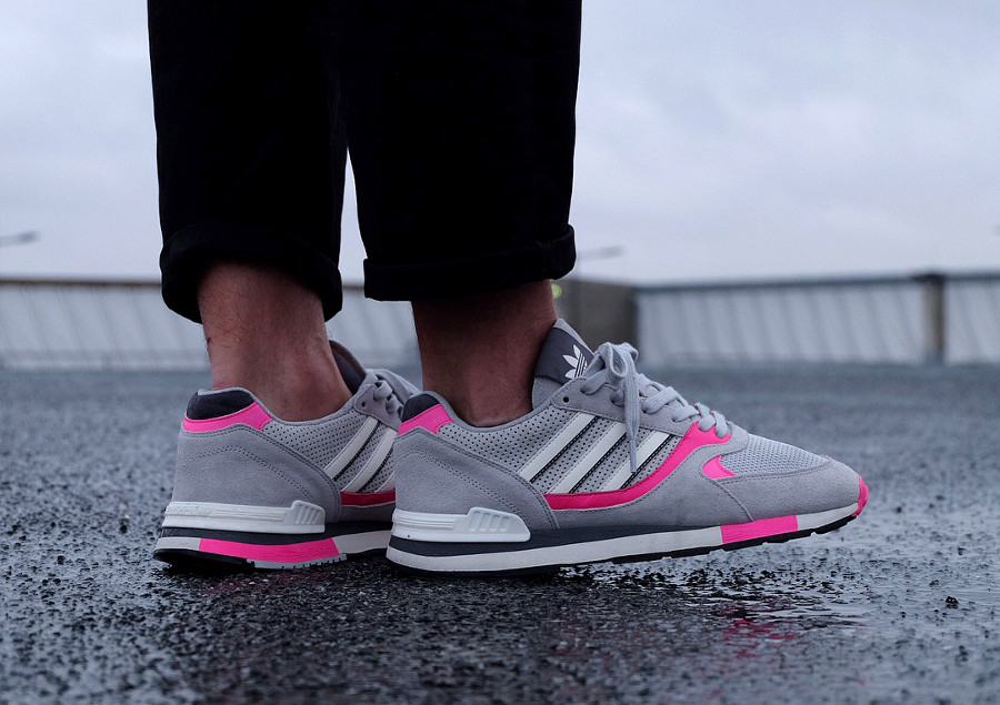 Adidas Quesence OG 'Grey Two/Shock Pink'