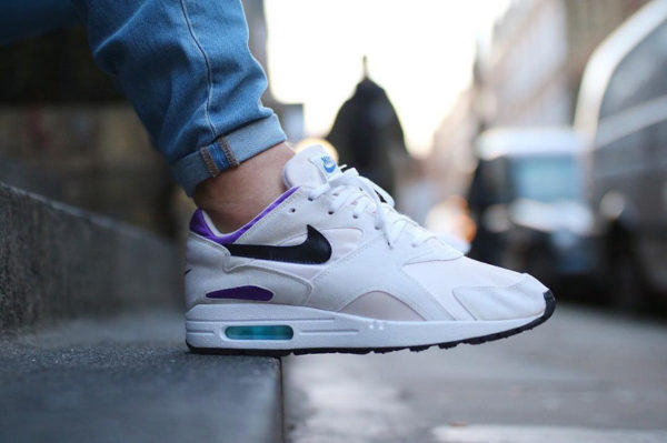 detailed look 7a037 3ef3f Sole Swap  Nike Pantheon 93 x Air Max 1 White Purple