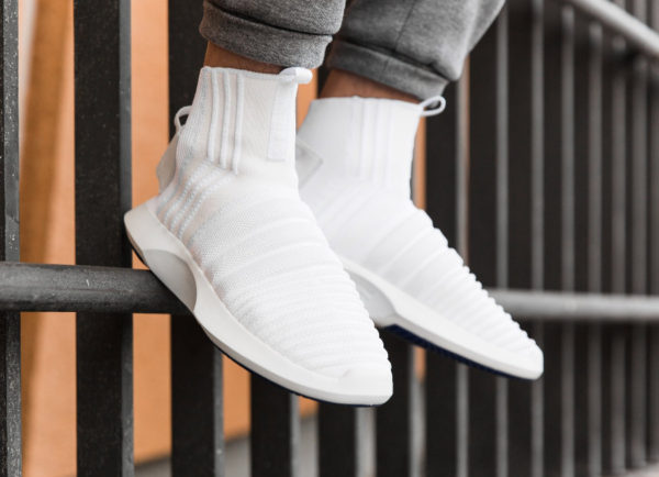 Adidas Crazy 1 Sock ADV Primeknit 'White Real Purple'