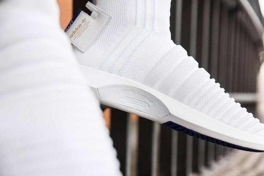 Adidas Crazy 1 Sock ADV Primeknit 'White Real Purple' (2)