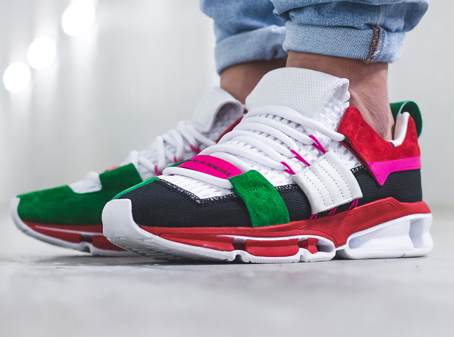 Adidas Twinstrike ADV Multicolor - chaussure rétro homme (3)