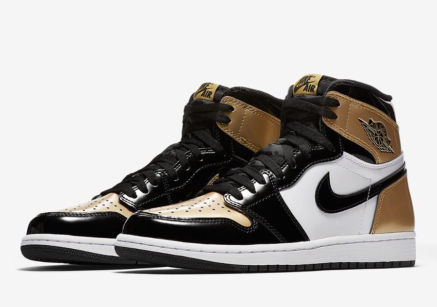 Air Jordan 1 High Gold Toe