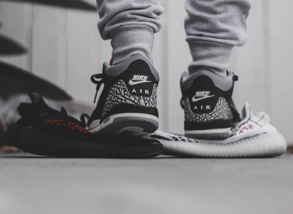 Air Jordan 3 Black Cement - @little_laces (1)