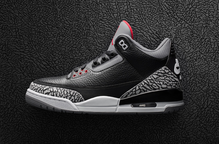 Air Jordan 3 retro ciment noir