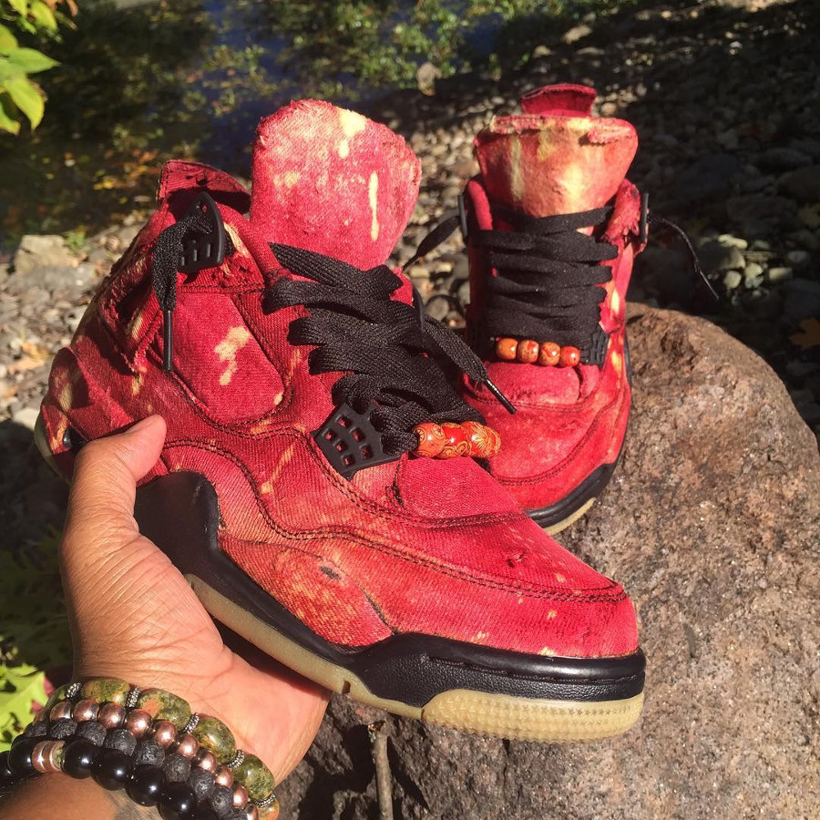 Air Jordan 4 Retro Levis Cherry Red