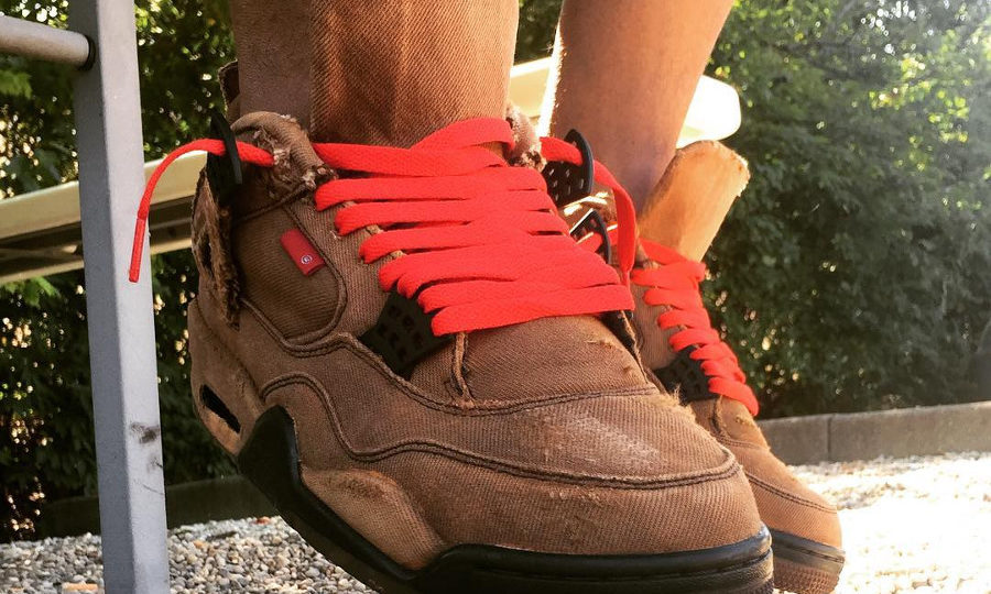 Air Jordan 4 Retro Levis Dyed Brown Denim (1)