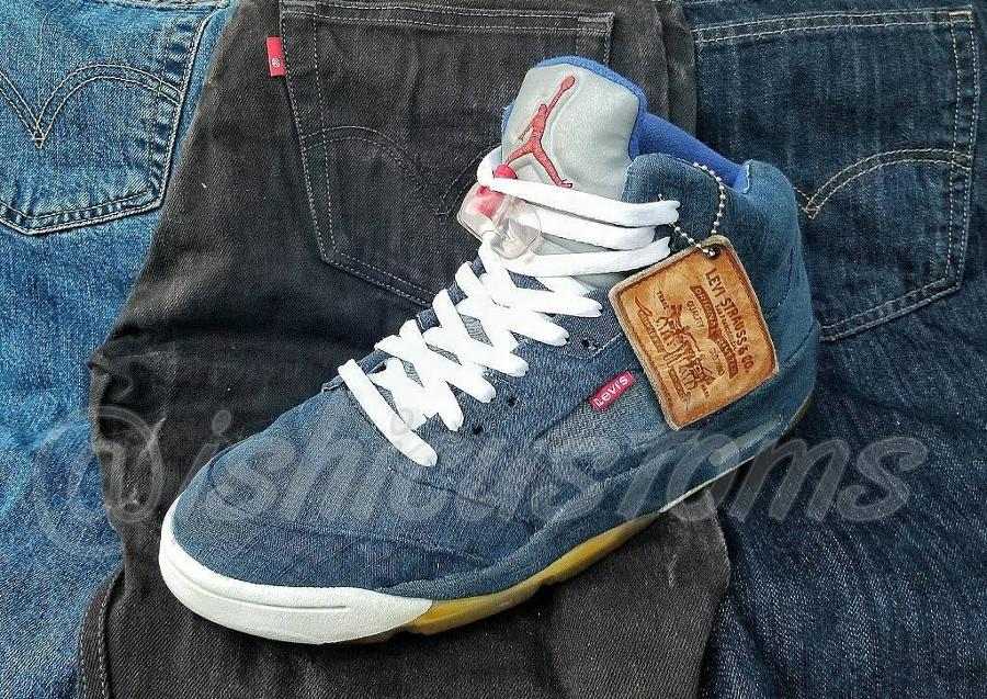 Air Jordan 5 Levis -