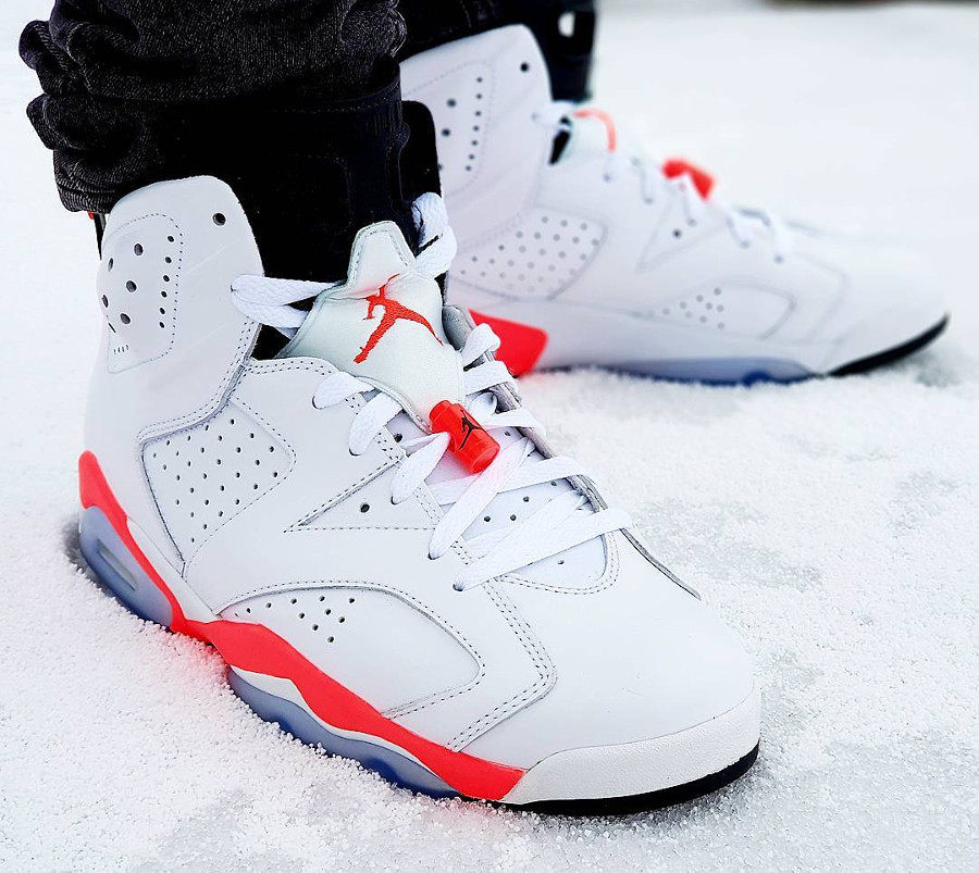 Air Jordan 6 Retro White Infrared - @frenchkickz