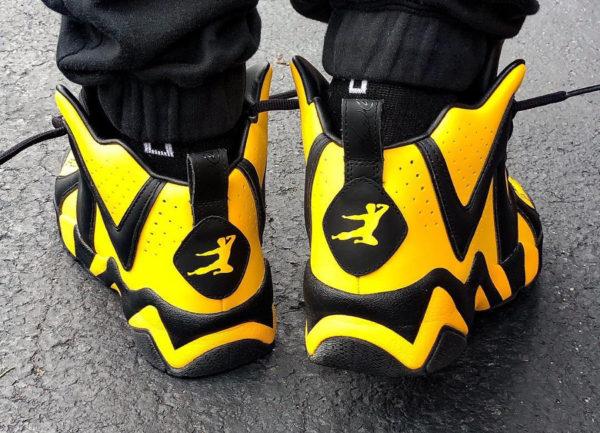 Bait x Reebok Kamikaze II Bruce Lee - chaussure rétro homme (1)