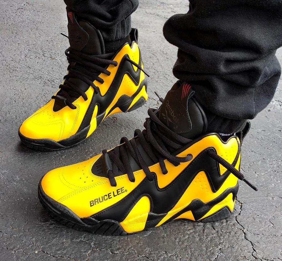 Bait x Reebok Kamikaze II Bruce Lee - chaussure rétro homme (2)