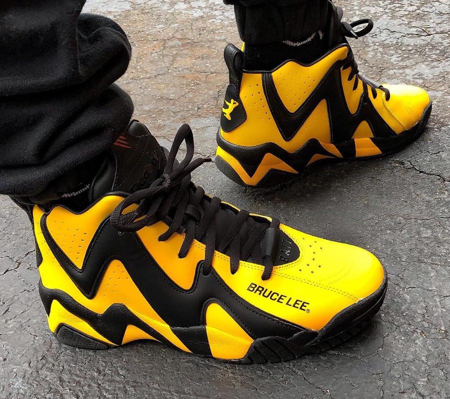 Bait x Reebok Kamikaze II Bruce Lee - chaussure rétro homme (3)