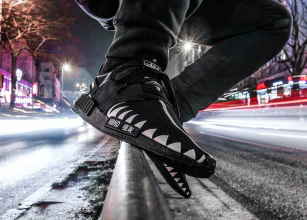 Chaussure Neighborhood x Adidas NMD R1 PK Shinsengumi (2)