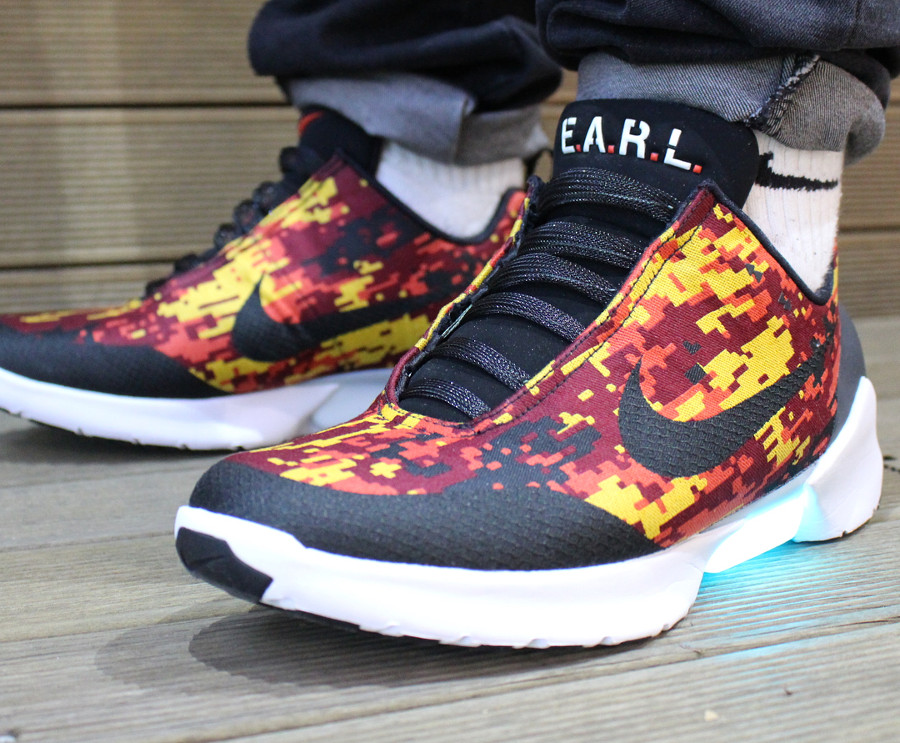 Chaussure Nike Hyperadapt 1.0 Team Red Digi Camo (2)