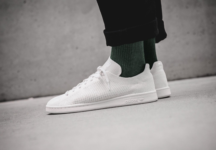 Chaussure Pharrell Williams x Adidas HU Holi Stan Smith BC PK Cream White