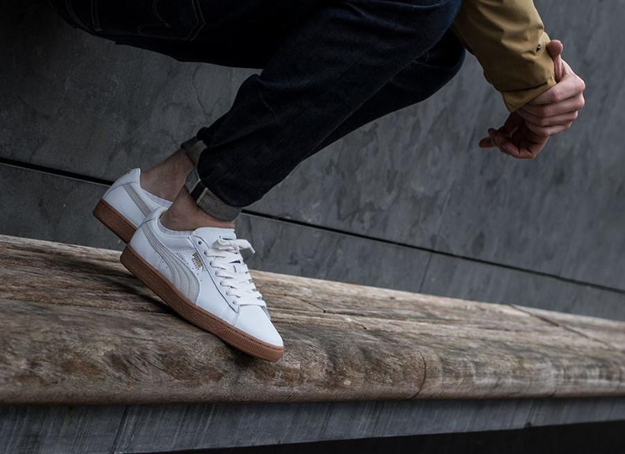 Puma Basket Classic Deluxe 'White Gum'