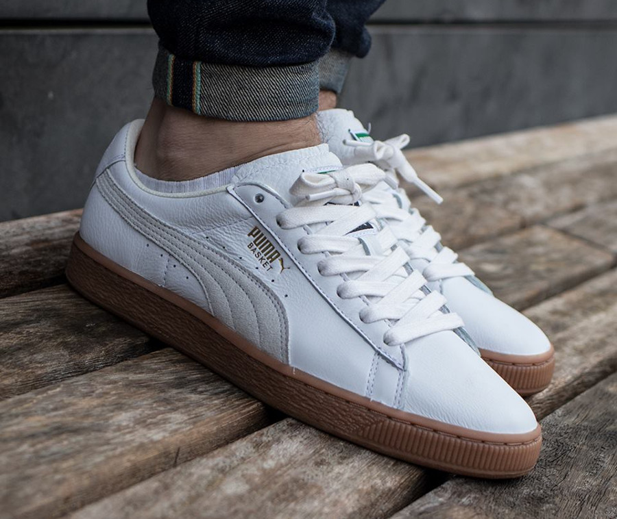 Guide des achats : Puma Basket Classic Deluxe Blanche