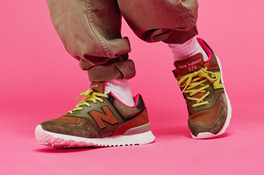 Chaussure Sneakersnstuff x New Balance M574SNS (édition limitée)