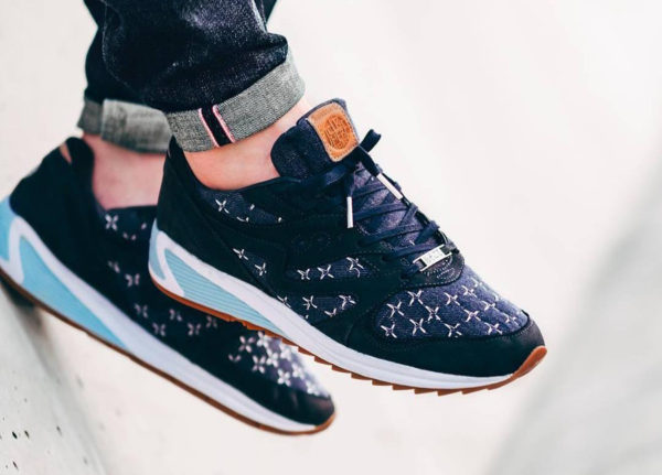 Up There x Saucony Grid 8000 'Sashiko'