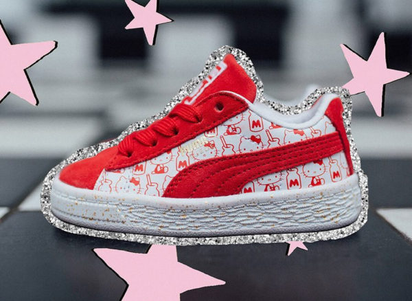 Hello Kitty x Puma Suede