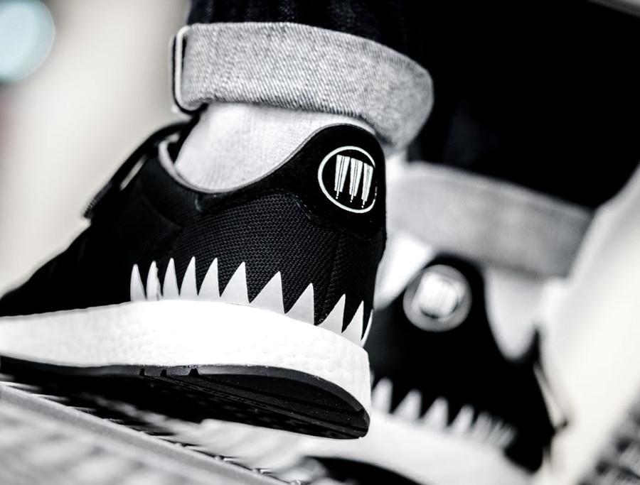 Neighborhood x Adidas Chop Shop noire Shinsen Gumi chaussure Primeknit homme (1)