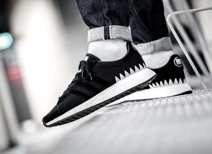 Neighborhood x Adidas Chop Shop Black 'Zigzag'