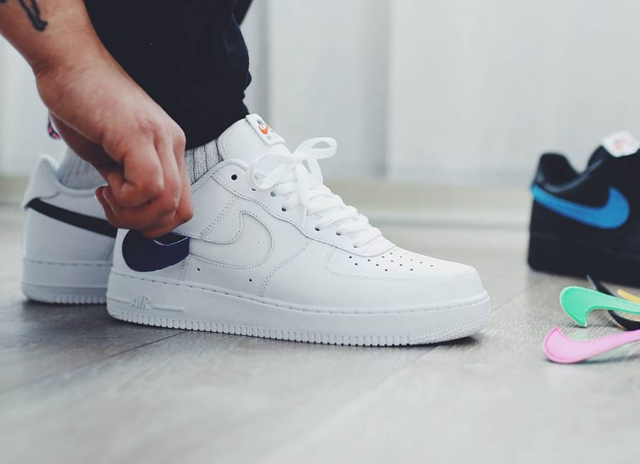 basket nike air force 1 scratch