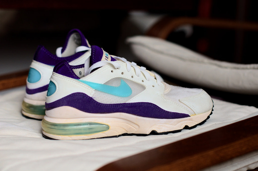 Nike Air Max 93 OG Grape made in Korea 1994