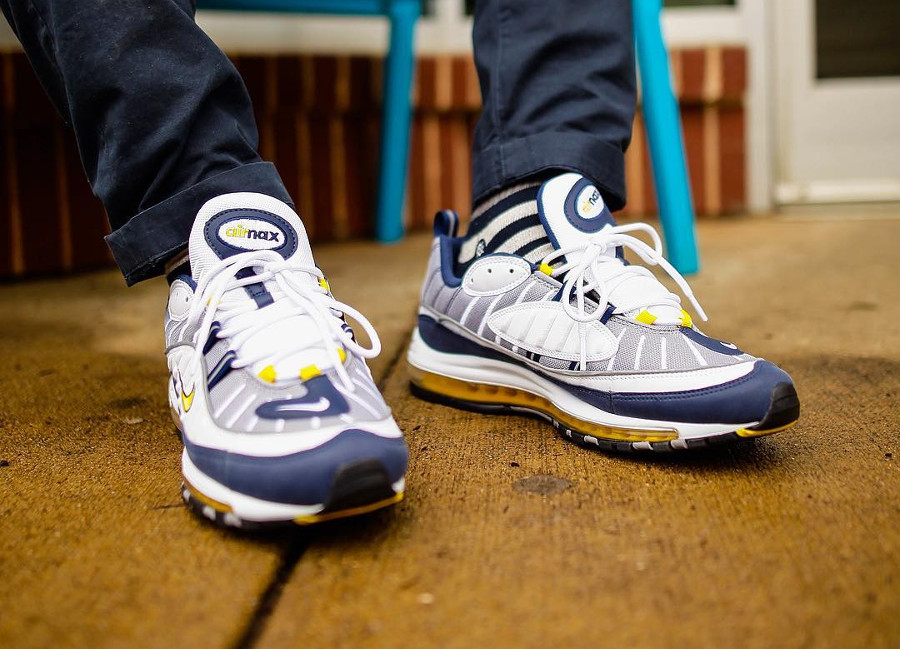 Nike Air Max 98 OG Tour Yellow - @jutway