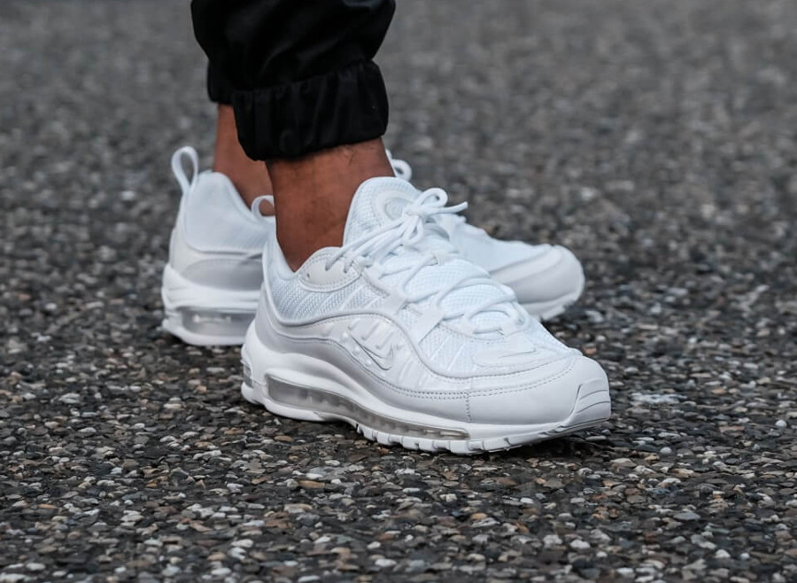 Nike Air Max 98 'White Pure Platinum'