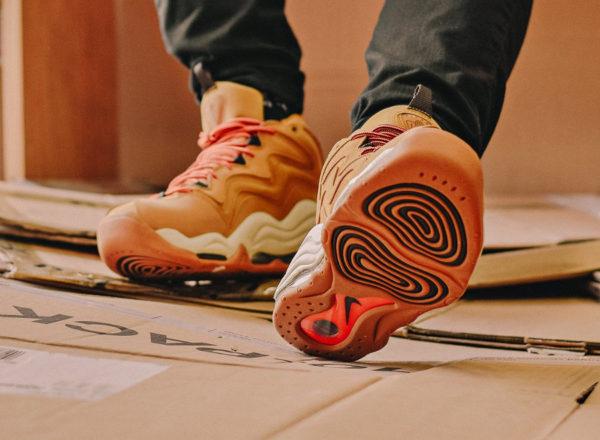 Nike Air Pippen 1 Desert Ochre (daim marron) - chaussure rétro homme 325001-700