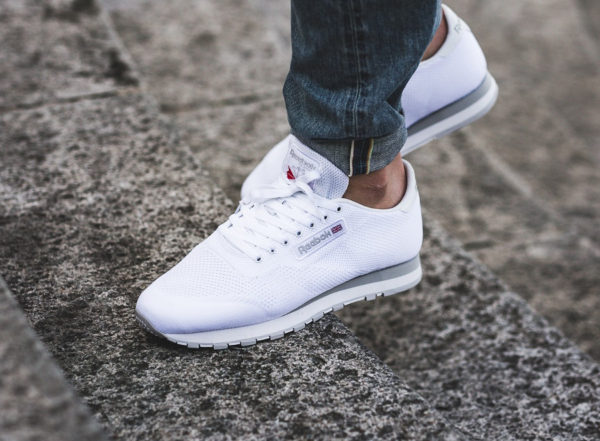 Reebok Classic Leather OG ULTK Ultraknit blanche chaussure rétro homme
