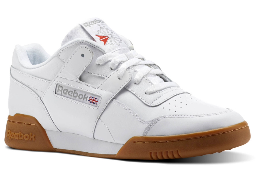 Reebok Workout Plus White Carbon