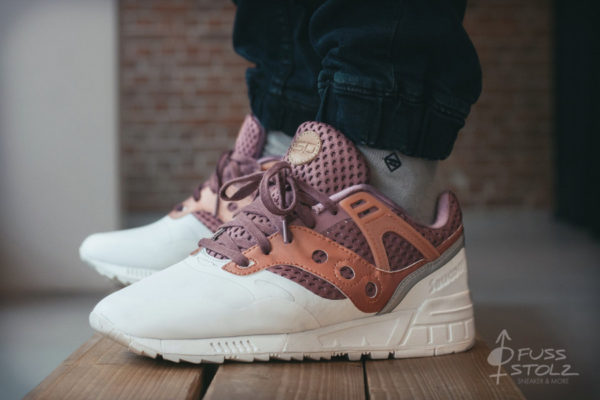 Saucony GRID SD HT 'Red/Tan'