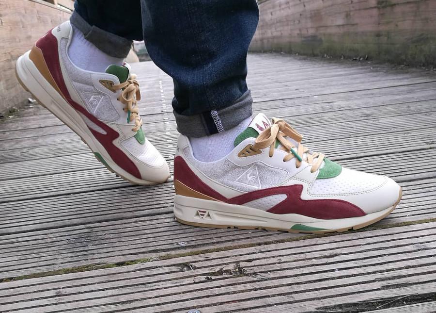 Sneakerbox x Le Coq Sportif R800 Hummus - @sneakfans