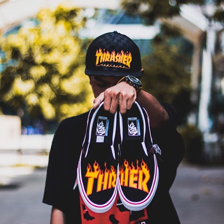 Vans Slip On Thrasher - @danialmohdnor