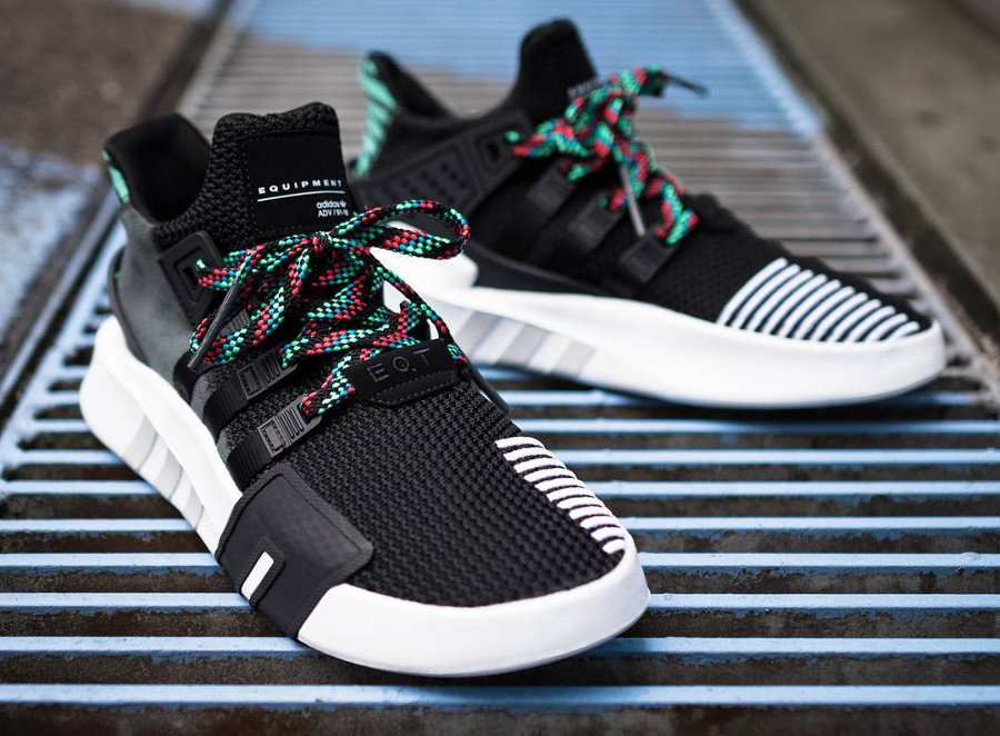 Adidas EQT Basketball ADV Mid 'Black Sub Green'
