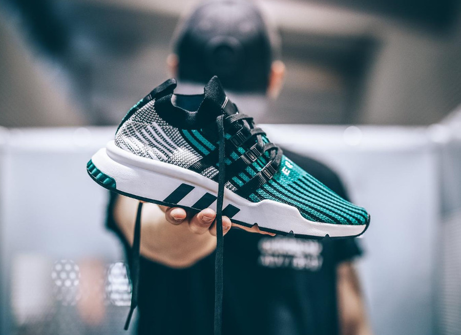 Adidas Equipment Support Mid ADV Primeknit 'Sub Green'