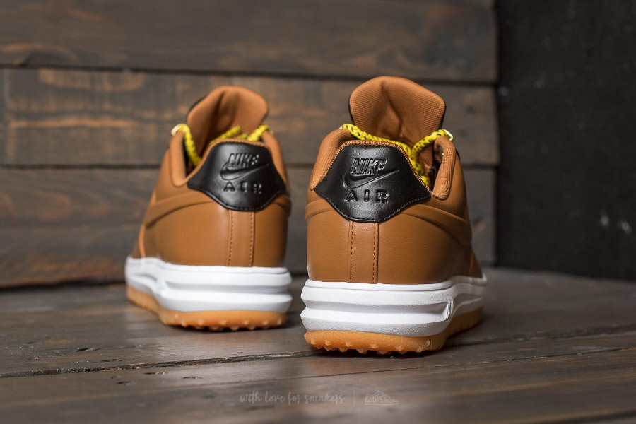 Avis] Nike Lunar Force 1 Duckboot Low Marron 'Ale Brown