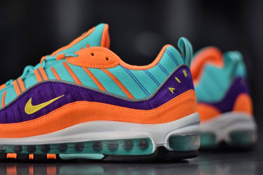 Avis] Faut il acheter la Nike Air Max 98 QS Cone Multicolor ?