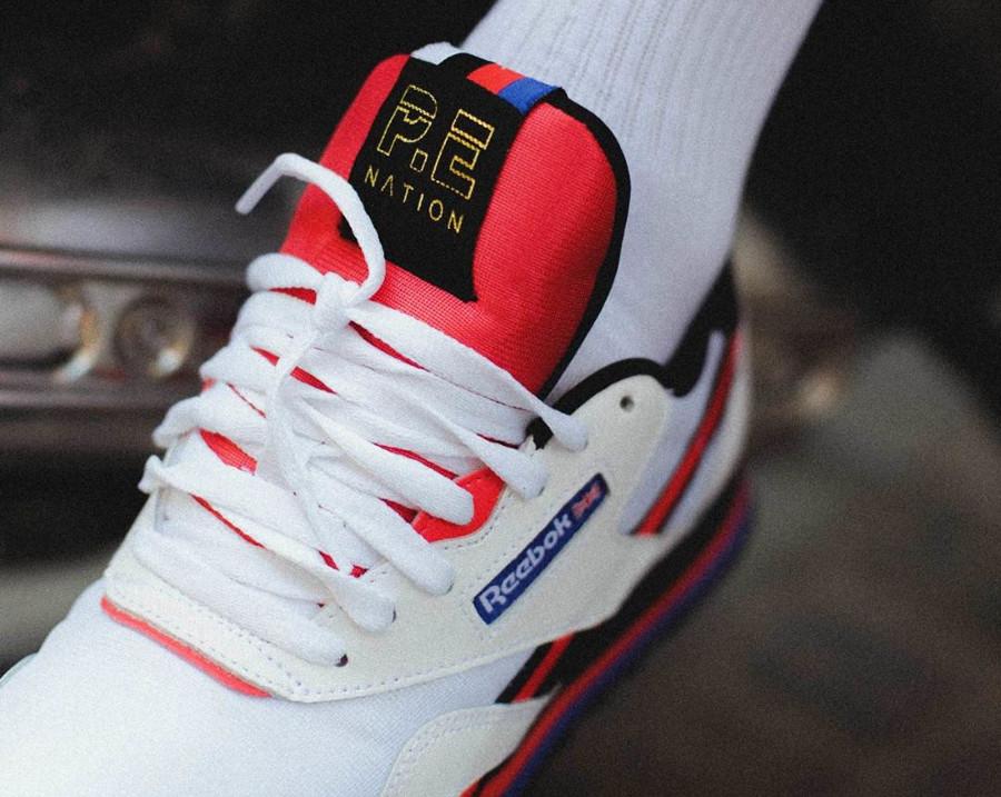chaussure-pe-nation-reebok-classic-nylon-blanche-white-black-dayglow-red (1)