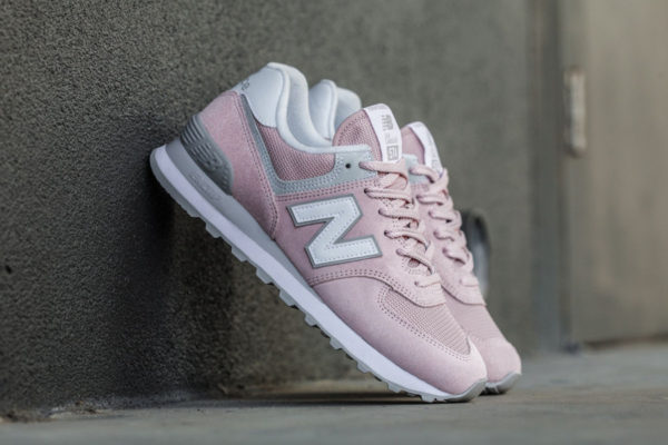 New Balance WL 574 Suede 'Faded Rose'
