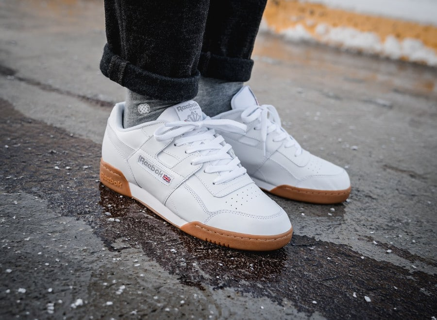 Reebok Workout Plus 'White Carbon Red'