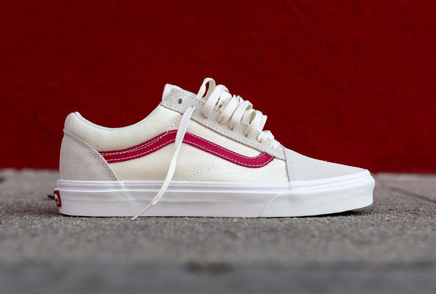 old school vans blanche