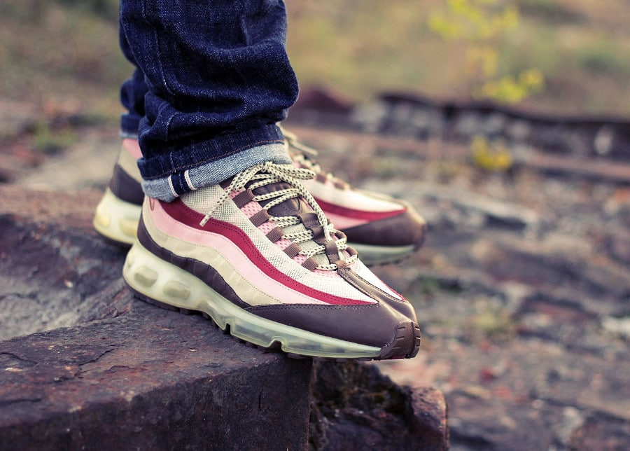 nike air max 95 360 hybrid bacon