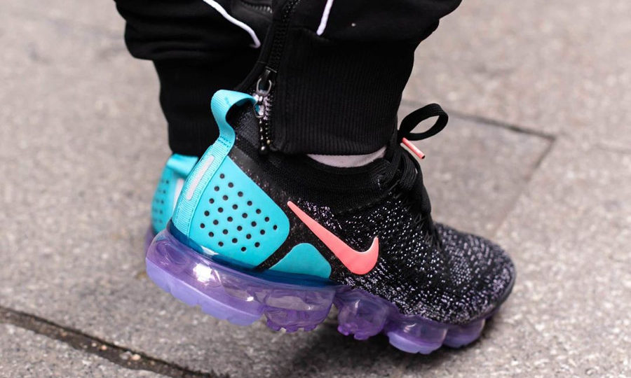 Chaussure Nike Air Vapormax 2.0 2018 Black Hot Punch (homme et femme)