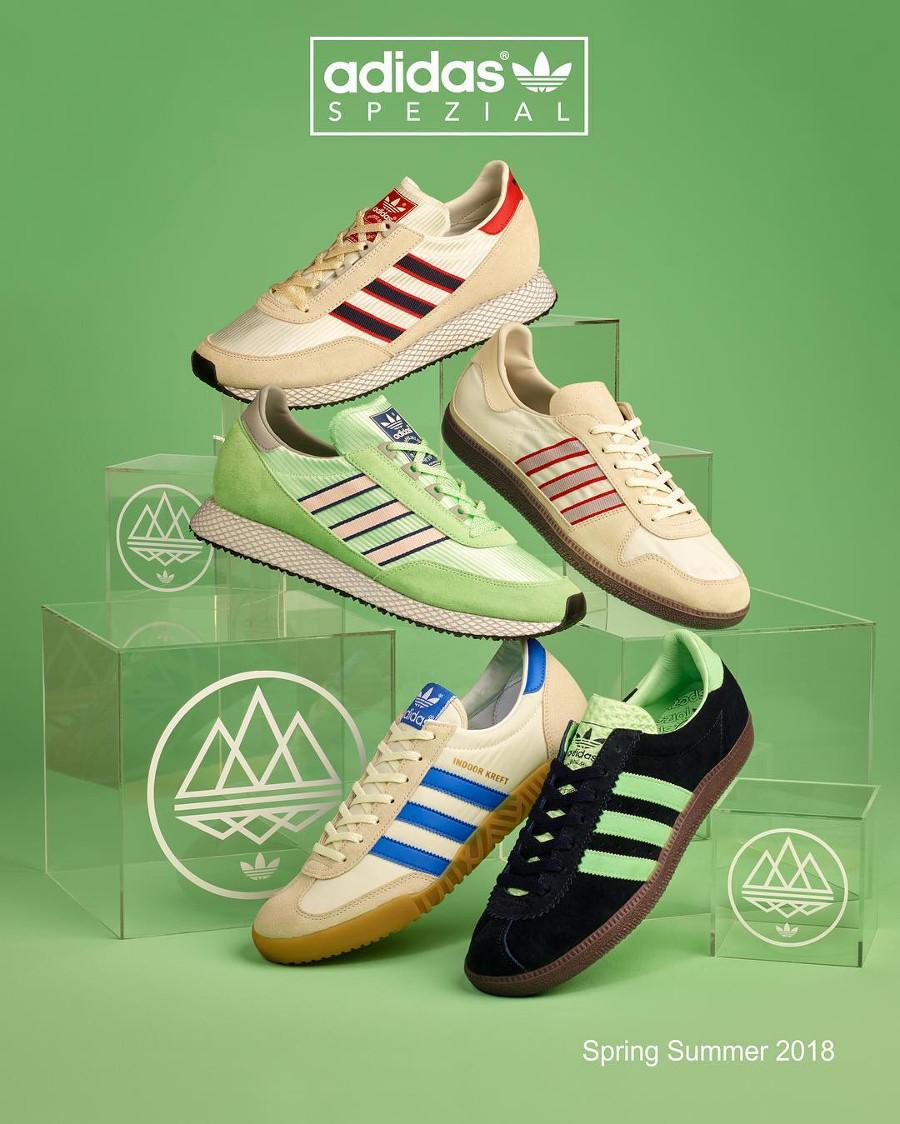 Adidas SPZL Spring Summer 2018 Drop 1