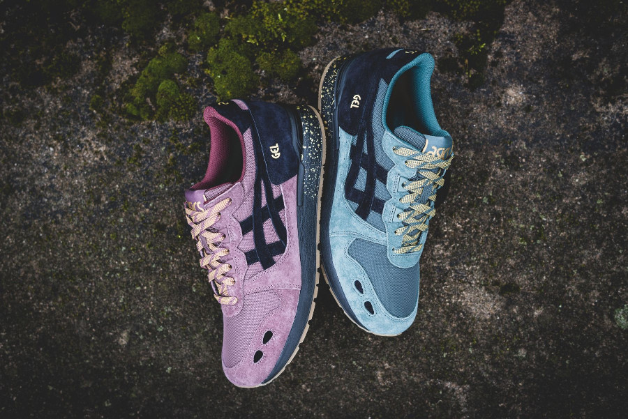 Le pack Asics Gel Lyte OG Speckled Midsole