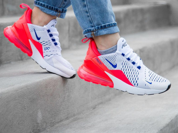 Chaussure Nike Air 180 x Air Max 270 Ultramarine Solar Red (femme)